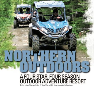 ATV Illustrated visits Northern Outdoors Resort