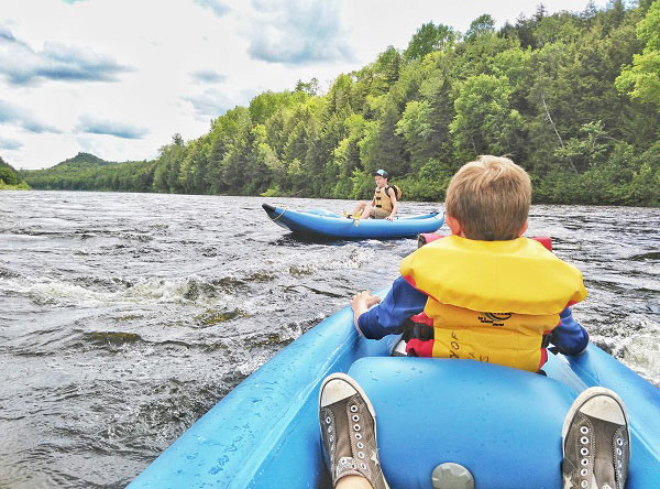 kennebec river float trip- northern outdoors