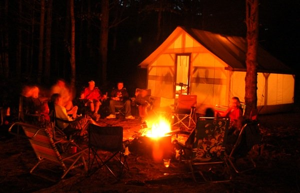 camping maine northern outdoors