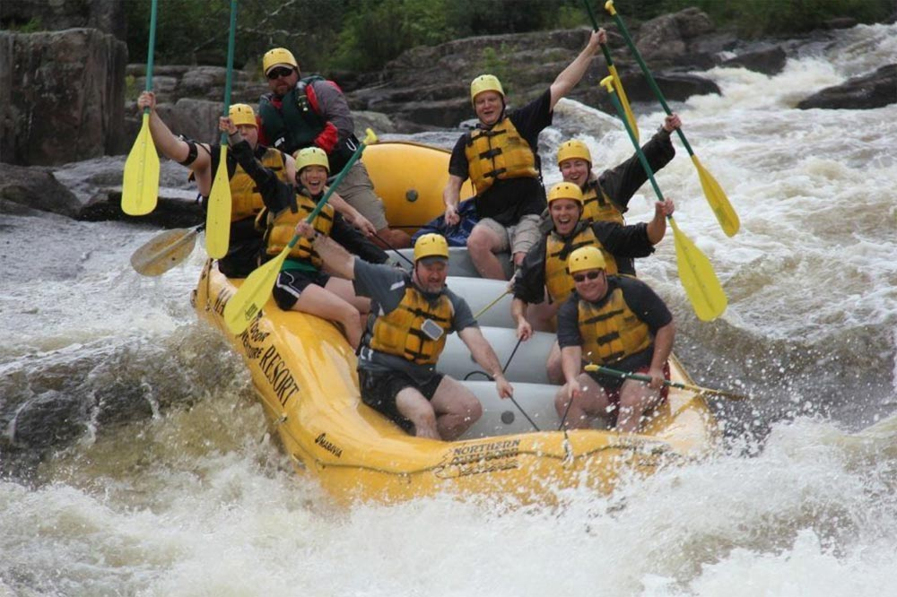 Whitewater Rafting the Penobscot River