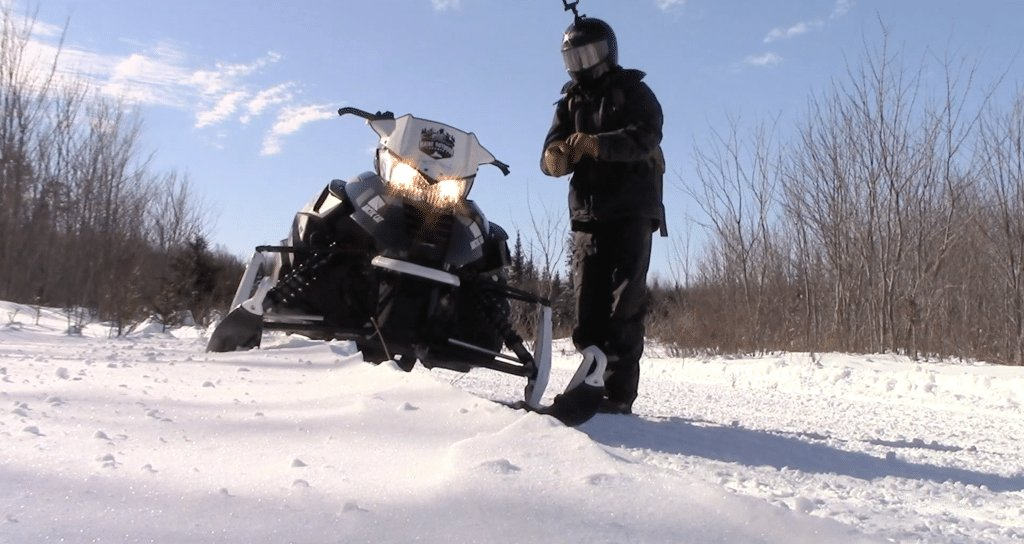 Zach Snowmobile Trail Report