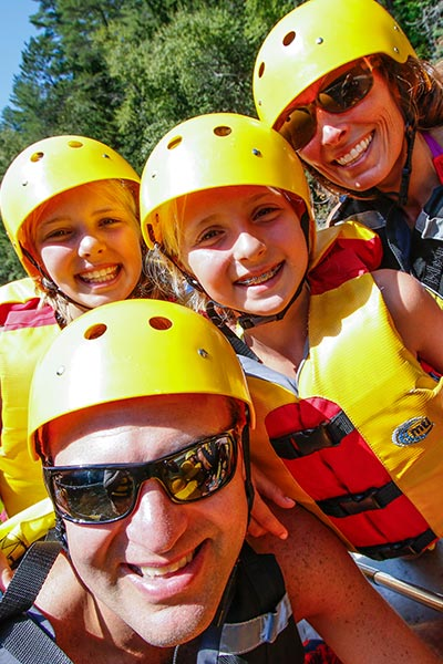 Maine family rafting - Northern Outdoors