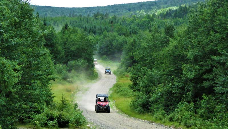 ATV Trail Jackman, Maine