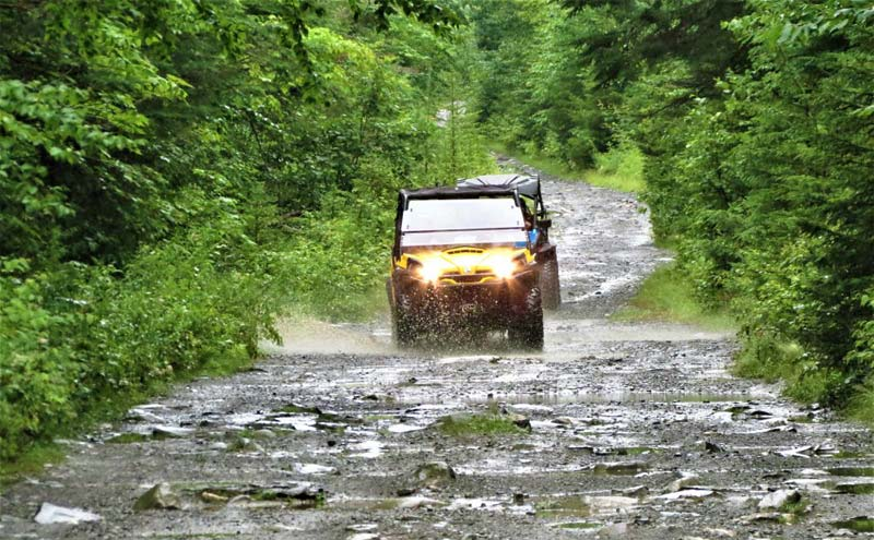 Maine ATV Tour: The Forks to Greenville