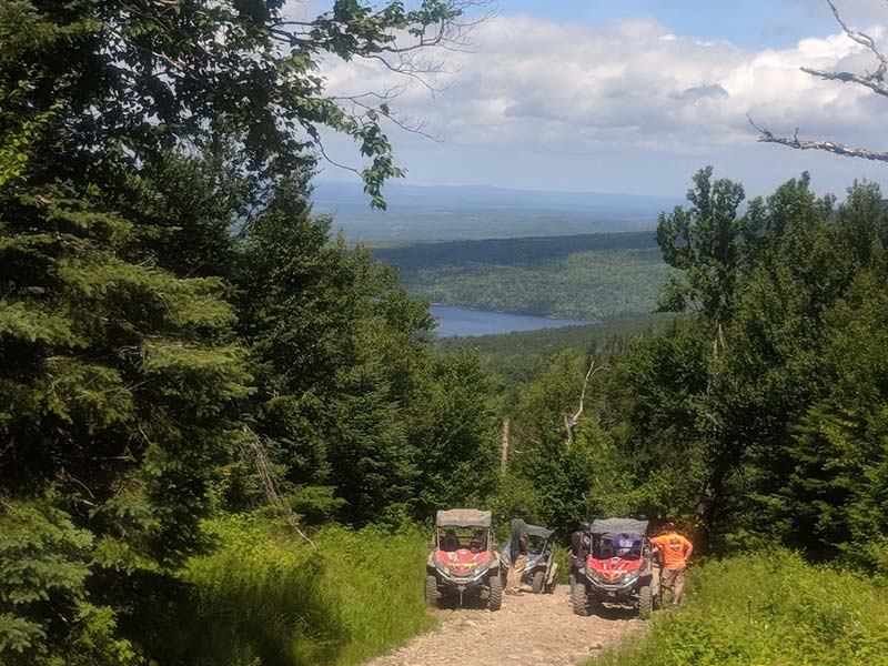 Lake Views from Maine ATV Trails