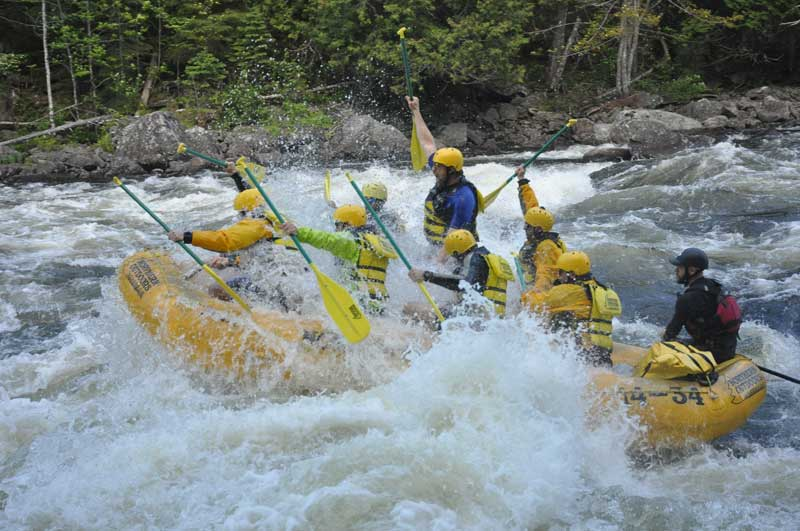 Bachelor Party - Kennebec River Whitewater Rafting