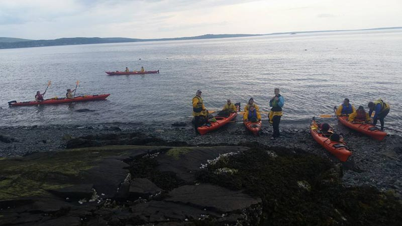 Sea Kayaking Acadia National Park - JWU College Program