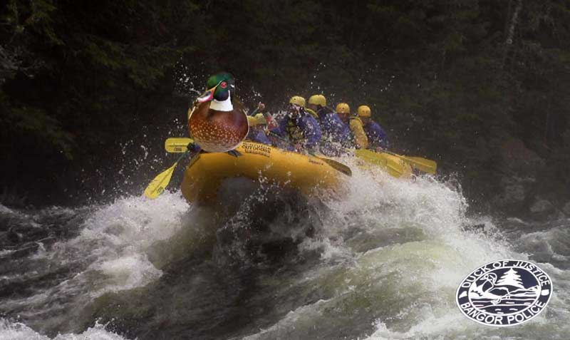 Bangor Maine Duck of Justice Whitewater Rafting