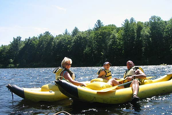 Kennebec river float - Northern Outdoors