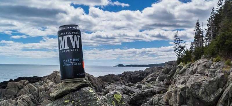 Marshall Wharf Brewing in Belfast, Maine