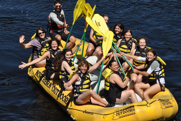 Mother Daughter kids half off rafting