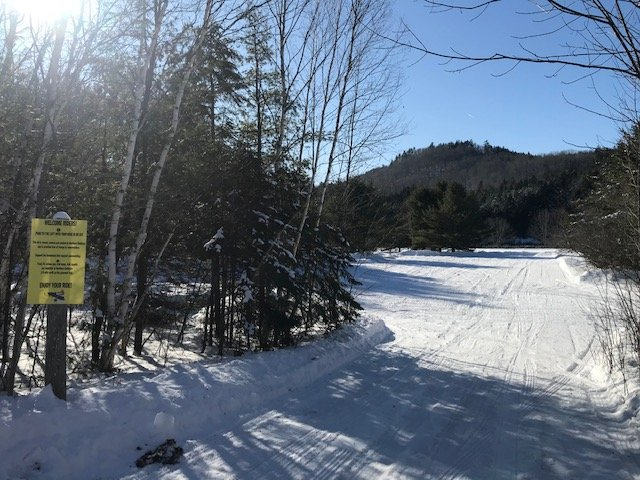 Snowmobile Park and Ride at Northern Outdoors