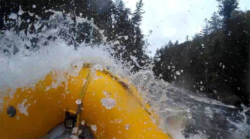 Rafting the Kennebec, Maine Guide Training
