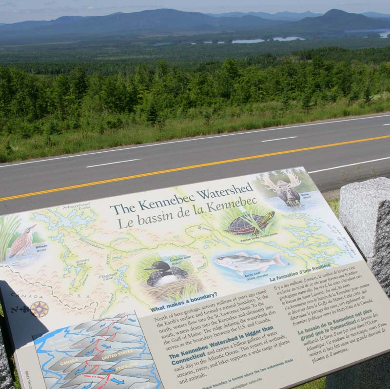 National Scenic Byway History, Biology, and Geography Markers