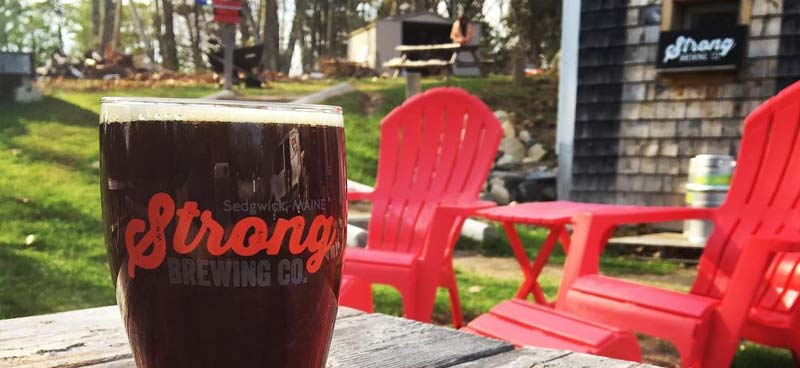 Strong Brewing | MicroBrewery in Sedgwick, Maine