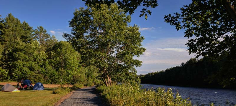 Forks Area Scenic Trail - Kennebec River Campground