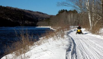 Snowmobile Trail Conditions Report: The Forks, Maine March 6