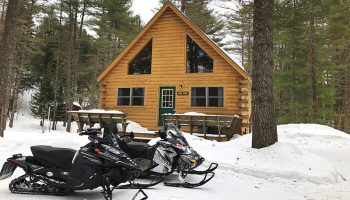 Snowmobile Trail Conditions Report: The Forks, Maine February 7, 2019