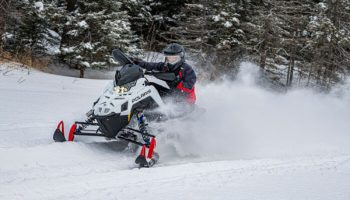Polaris Snowmobiles Tests Newest Sleds At Northern Outdoors
