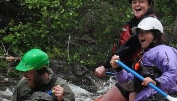Maine Whitewater Rafting Guide Grace Mcnally