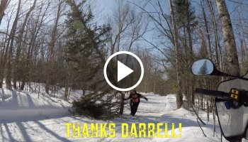 Snowmobile Trail Conditions Report: The Forks, Maine March 2021