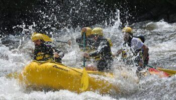 Whitewater Rafting the Dead River: Summer Flow