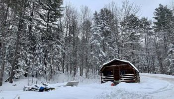 Snowmobile Trail Conditions Report: The Forks, Maine February 2021
