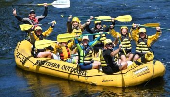 Maine Hunting Fishing Whitewater Rafting Guide: Dan Levy
