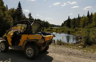 ATV Maine - Parlin Pond Loop Trail