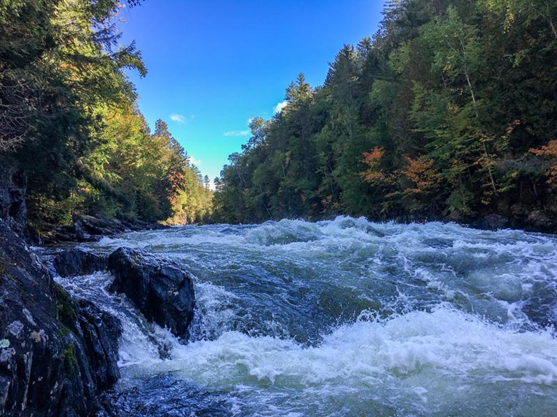 Kennebec River Gorge Whitewater