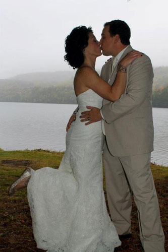 Wedding on the Kennebec River