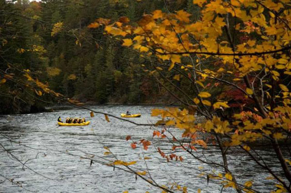 View Carry Brook Kennebec rafting