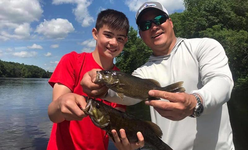 Bass Fishing Kennebec Family