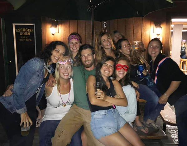 Bachelorette Party Nightlife at Northern Outdoors