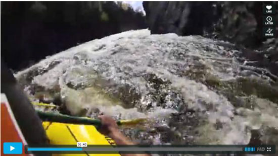 Rafting Penobscot River Video Northern Outdoors