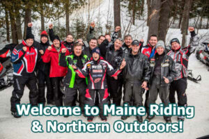 Polaris Welcome to Maine Riding
