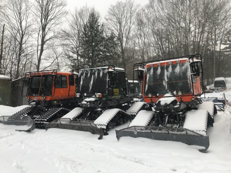 Snowmobile Trail Groomers at Northern Outdoors