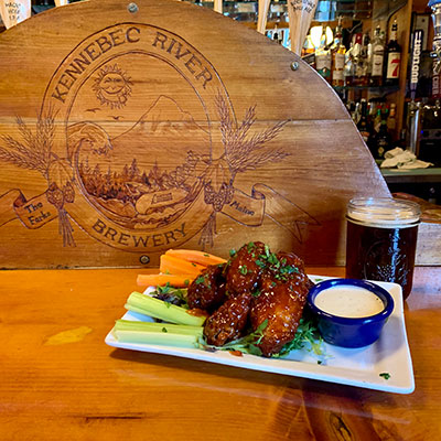 Wing Night Kennebec River Brewery